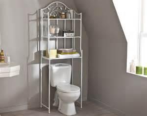 meuble de rangement wc ou lave linge motif feuillage becquet