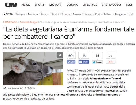 alimentazione vegana contro i tumori no la dieta vegana non cura i tumori ma li previene