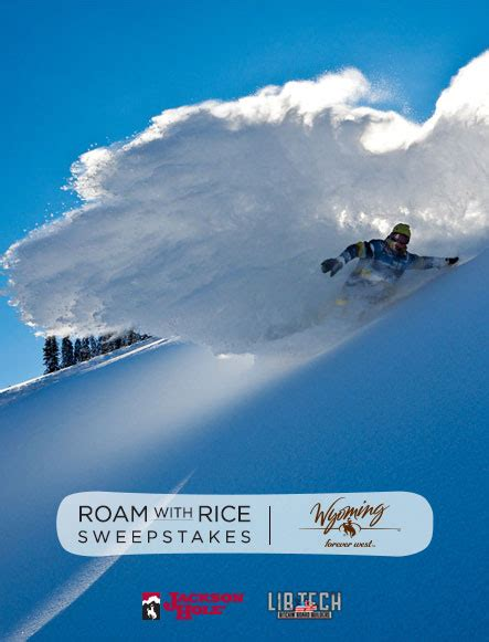 Wyoming Tourism Sweepstakes - travis rice wyoming s voice of winter