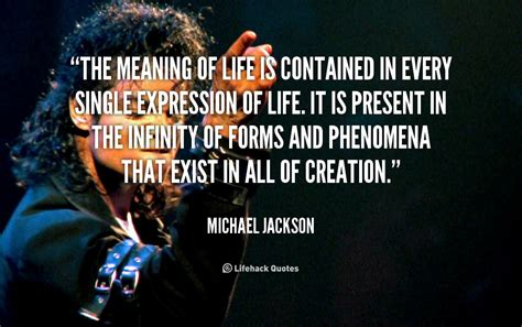 michael jackson biography quotes meaning of life quotes quotesgram