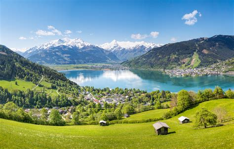 am see walking routes in zell am see
