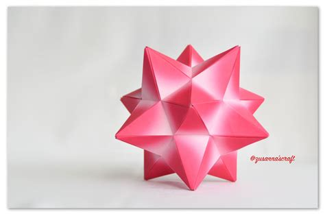 Origami Lesser Stellated Dodecahedron Meenakshi Mukerji - origami lesser stellated dodecahedron meenakshi mukerji