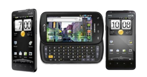 sprint android update more sprint devices receive security updates htc evo and design 4g added to the mix