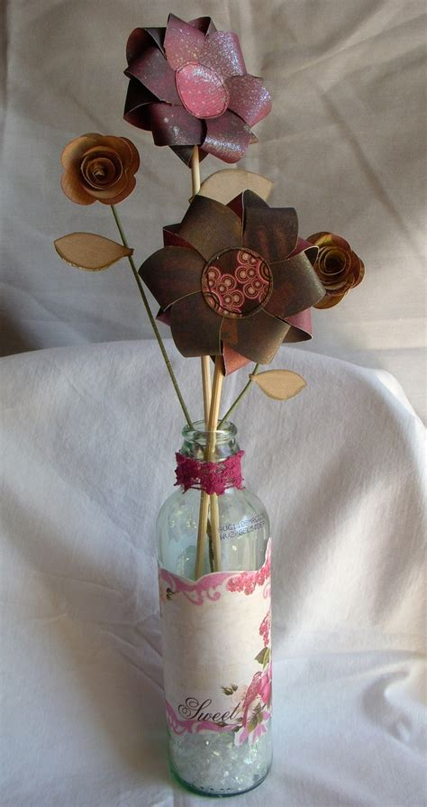 Paper Vase Craft - 17 best images about handmade flowers on