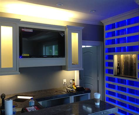 Led Lighting For Home Interiors Interior Led Lighting Using Warm White And Rgb Led Lights