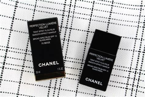Harga Chanel Perfection Lumiere Velvet chanel s perfection lumi 232 re velvet foundation review