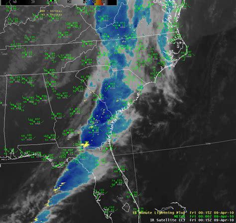 us satellite weather map loop bluffton sc ef 0 tornado april 8 2010