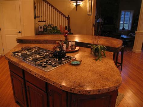 Staining Concrete Countertops by Stained Concrete Countertop House 3
