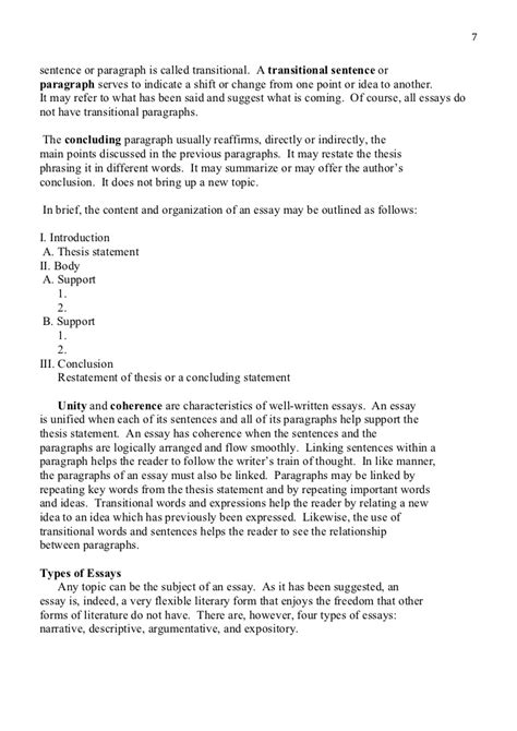 Elements Essay 3101 11 by Elements Essay 3101 11