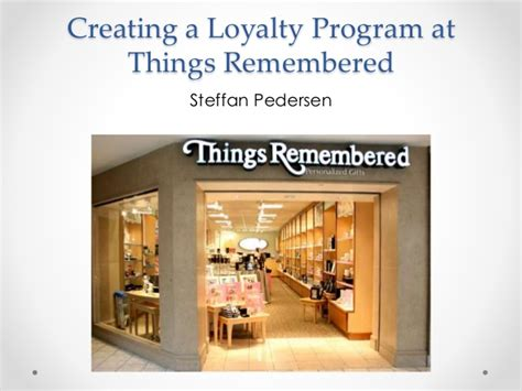 Uga Marketing Mba by Things Remembered Building A Loyalty Program Uga