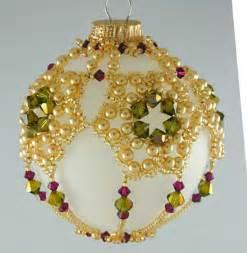 Free beaded ornament patterns amp ndash christmas