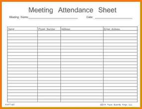 meeting attendance list template aa attendance card pictures to pin on pinsdaddy