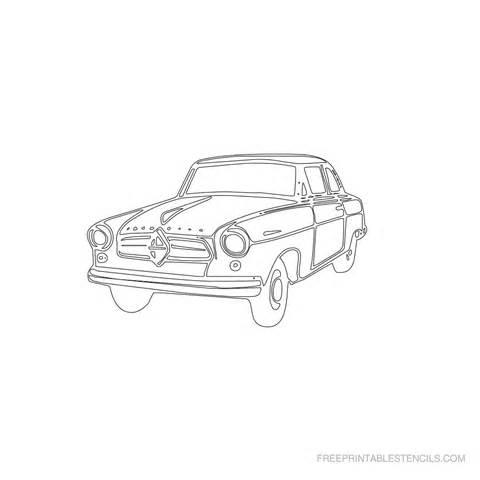 car template printable free printable vintage car stencils free printable stencils
