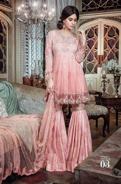 maria b bridal collection wedding and formal dresses colorful embroidered frocks for girls fashion pakistan maria b luxury formal dresses embroidered collection 2017
