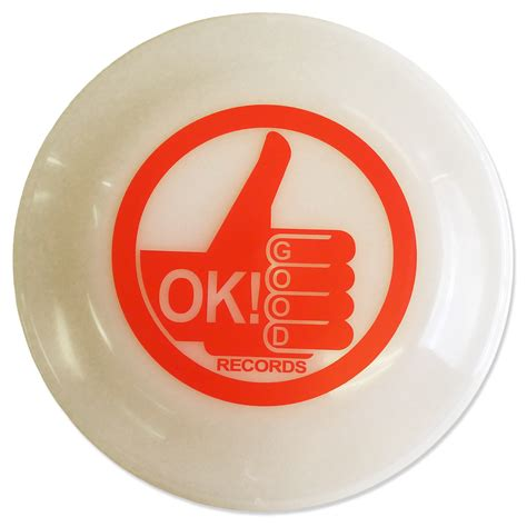Ok Records Ok Records Glow In The Frisbee Ok Records