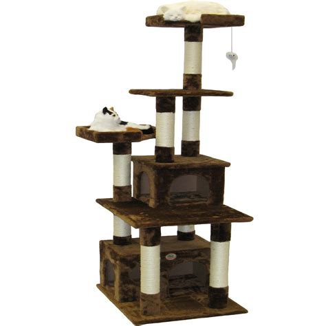 Outdoor Christmas Ornaments by Go Pet Club 67 Quot Condo House Cat Tree Amp Reviews Wayfair