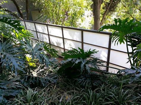 Plexiglass Fence Plexiglass Fences Contemporary Landscape Los Angeles