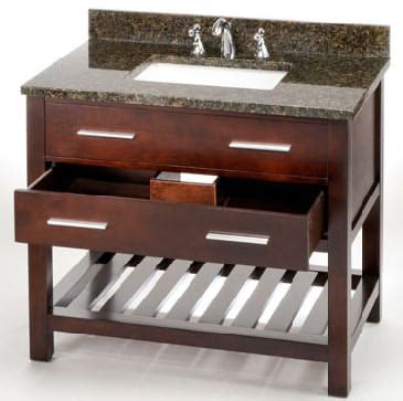 36 inch drawer slides soft close empire industries pr36dc 36 inch contemporary vanity with