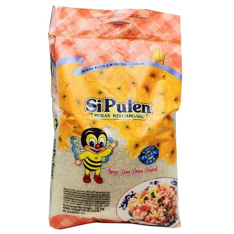Si Pulen Beras Pandan Wangi 10kg supplier beras gandum kacang kering