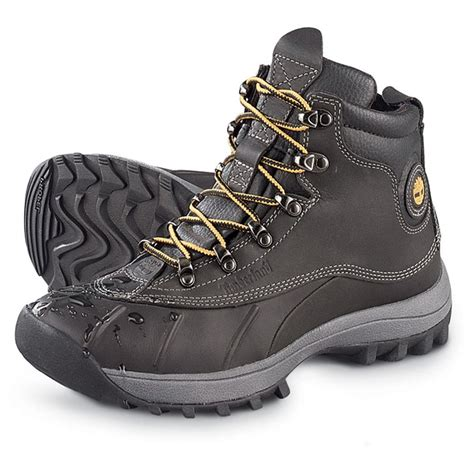 timberland snow boots mens s timberland 174 canard waterproof mid boots black