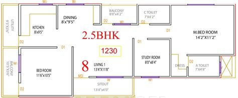 bedroom vastu for east facing house 1230 sq ft 2 bhk 2t apartment for sale in vaastu