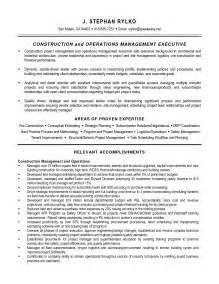 Resume Of Project Manager Mechanical Resume Construction Project Manager Resume 2016 Construction Project Manager Resume Pdf