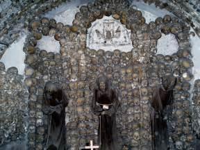 tile pattern temple catacombs kotor 6 creepy churches made of bones cripta cappuccini