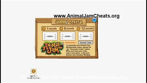 Animal Jam Membership Gift Card - animal jam membership codes for 2016 newhairstylesformen2014 com