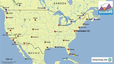 us map chicago new york reiseb 252 ro menziken ag