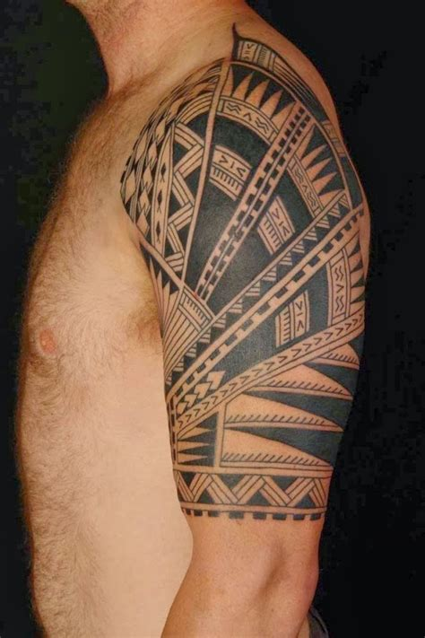 mens half sleeve tribal tattoos half sleeve designs for tattoos