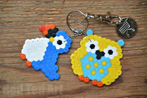 what to do with hama gifts can make hama bead keyring owls ted