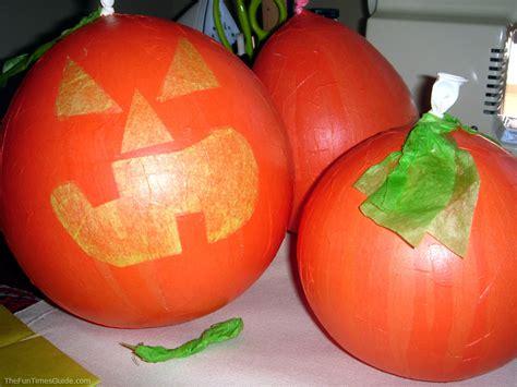Paper Pumpkin Crafts For - easy crafts decorations make paper mache