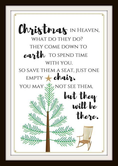 christmas  heaven printable   love christmas  heaven christmas  heaven poem