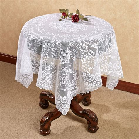downton grantham lace table topper