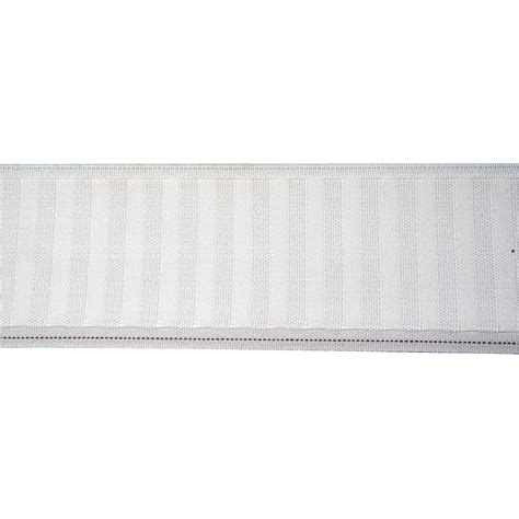roll pleat drapery 3 quot wide white multi pleater tape 100 yards drapery