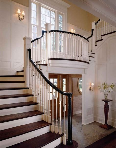 Black Staircase Banister by New Living Black Painted Railings Can