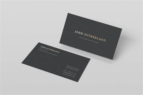 gold foil business card template inspiration cardfaves