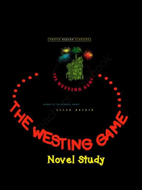 Novel The Westing 65 best westing images on mystery genre readers workshop and reading