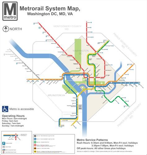 metro map in file dc metro map 2013 svg