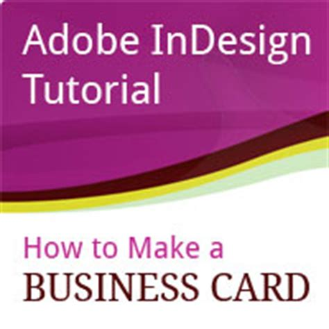 tutorial indesign business card indesign tutorial directory overview page 1 pxleyes com