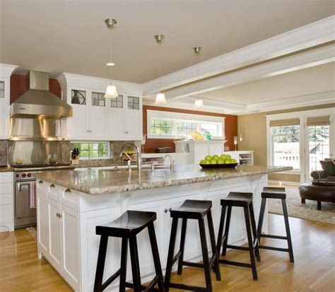 Kitchen Island With Chairs by Bar Stools For Kitchen Island White Wooden Kitchen Island