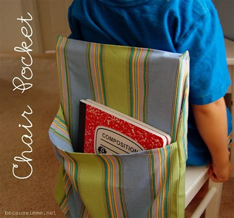 pattern for kindergarten chair pockets 26 best images about chair pockets on pinterest extra