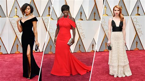a fashion experts guide to the oscars red carpet video best looks from the 2017 oscars red carpet nbc chicago
