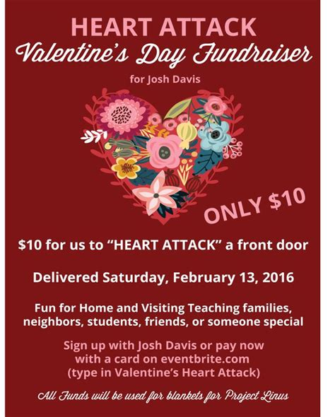 valentines fundraiser attack fundraiser how to do it better
