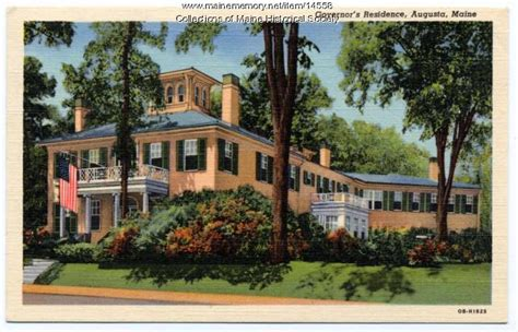 blaine house maine maine memory network blaine house augusta ca 1920