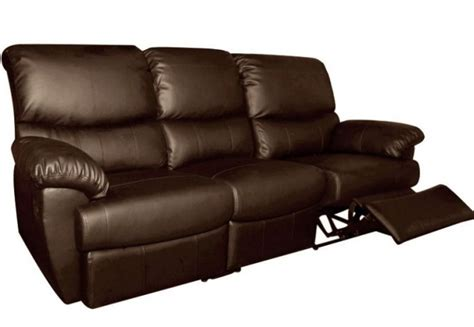 3 Seater Leather Recliner Sofa by Ottawa 3 Seater Leather Recliner Sofa Sofas Premium