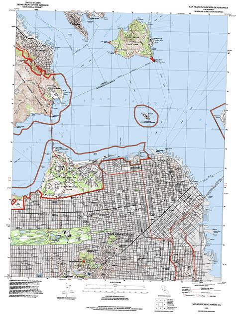 san francisco geography map where is the drainage divide of san francisco geography
