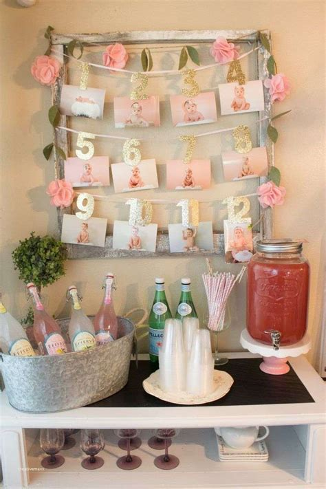 1st birthday party decoration ideas at home 1st birthday party simple decorations at home best of the