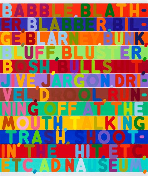 colorful language a colorful language paintings by mel bochner at the