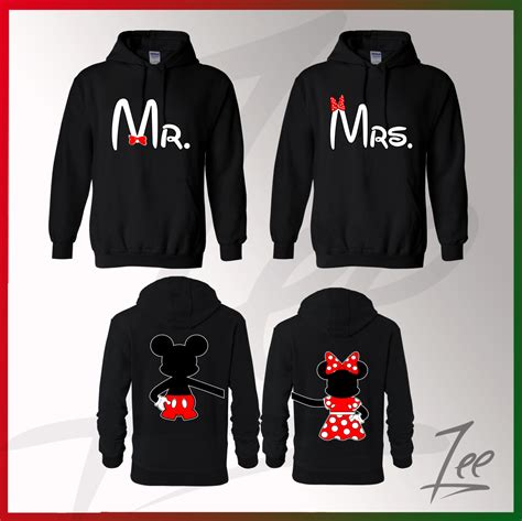 Get Matching Couples Sweaters Matching Mickey Mouse Mr Minnie Mrs Hoodies
